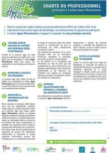 Charte du professionnel Appui Pharmaciens