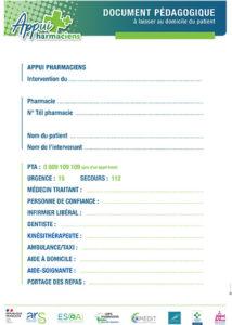 Document pédagogique Appui Pharmacien