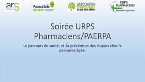 Diaporama soirée PAERPA79 URPS Pharmaciens 28 juin 2018