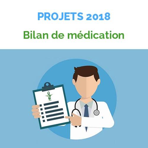 Bilan de médication projet 2018 URPS Pharmaciens Nouvelle-Aquitaine