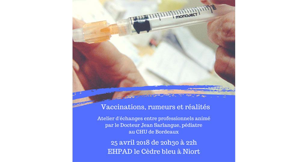 Action Semaine Européenne de la Vaccination dans les Deux-Sèvres