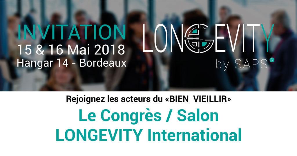 Longevity by saps – Congrès Silver Économie
