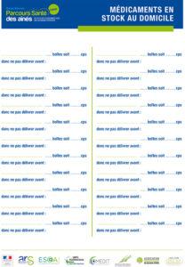Liste des médicaments au domicile PAERPA 79