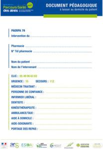 Document pédagogique PAERPA 79