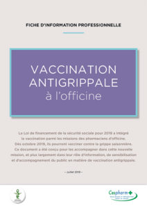Calendrier Vaccinations 2020.Campagne Vaccination 2019 2020 Urps Pharmaciens Nouvelle