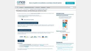 site internet onco nouvelle-aquitaine