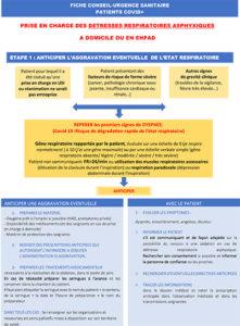 Consignes dyspnée et détresses respiratoires COVID-19