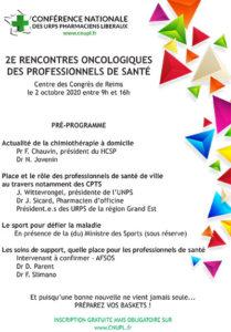 Pré-programme 2ème journée Oncologique de la CNUPL