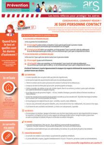 Coronavirus : comment réagir si je suis une personne contact ?