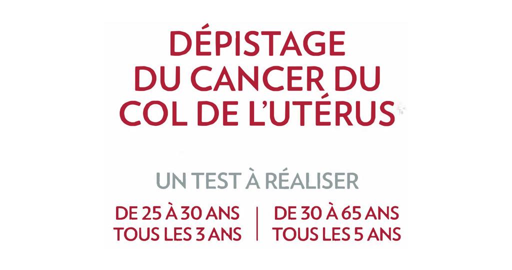 Dépistage du cancer du col de l'utérus : Les nouvelles modalités
