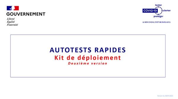 Kit de déploiement des autotests rapides