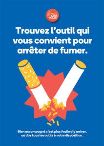 Flyer trouver l'outil qui vous convient pour arrêter de fumer