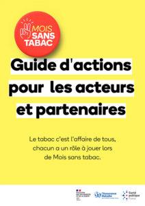 Mois sans tabac guide d'actions pour les acteurs et partenaires