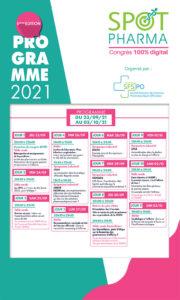 Programme Spot Pharma 2021 URPS Pharmaciens Nouvelle-Aquitaine
