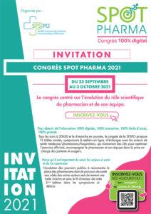 Invitation Spot Pharma 2021